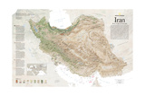 2008 Iran, Born at the Crossroads Posters by  National Geographic Maps