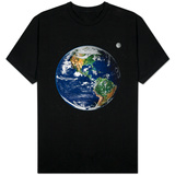 North and South America T-skjorte