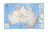 2000 Australia Map Posters par  National Geographic Maps
