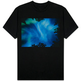 Northern Lights Or Aurora Borealis, Tilton Lake, Sudbury, Ontario, Canada. T-Shirt