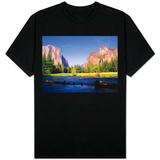 Yosemite Valley T-shirts