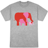 Pink Elephants T-shirts