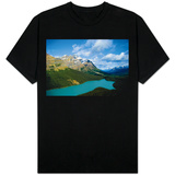 Banff Peyto Lake Photo T-Shirt