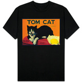 Tom Cat Lemon Label - Orosi, CA Shirt