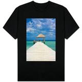 Wooden Pier T-skjorter