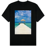 Wooden Pier T-shirts