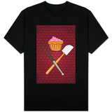 Cupcake - Whisk and Spatula T-Shirt