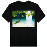 Beach on Ko Hong Island T-shirts