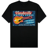 Nashville, Tennessee - Guitar Shack T-shirts