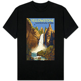 Tower Falls - Yellowstone National Park T-shirts