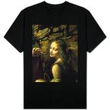 The Virgin of the Rocks (The Virgin with the Infant St. John Adoring the Infant Christ) T-skjorter