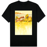 Coastal Houses T-shirts