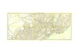 1905 Kirin Harbin Vladivostok Map Print