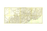 1905 Kirin Harbin Vladivostok Map Print by  National Geographic Maps
