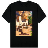 Mesa Verde National Park, Colorado - Cliff Palace T-shirts