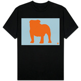 French Bulldog Orange T-Shirt