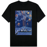 "Fireworks in Venice, Illustration for ""Fetes Galantes"" by Paul Verlaine 1924 T-Shirt"