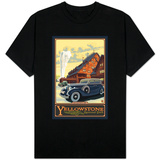 Old Faithful Inn, Yellowstone National Park, Wyoming Shirts