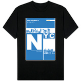 Nyc: Find Yourself In The City Shirts
