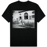 Pasta Drying in the Streets, Naples, 1897 T-Shirt