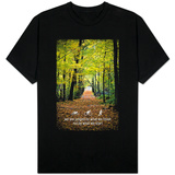 Triathlon Trail Motivational Quote T-Shirts