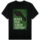 Reduce Your Carbon Footprint Magliette