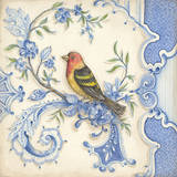 Chinoiserie Aviary I Prints by Kate McRostie