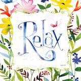 Relaxation Affiche par Anne Tavoletti