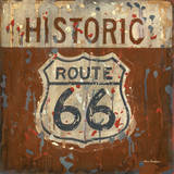 Historic Route 66 Posters by Aaron Christensen