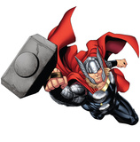 Thor - Avengers Assemble Wall Jammer Wall Decal Wall Decal