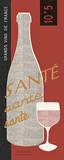 Red Wine Toast Prints by Sue Schlabach