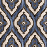 Indigo Ikat III Wall Art by Paul Brent