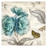 Blooming Teal II - Mini Prints by Aimee Wilson