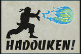 Hadouken Video Game Prints