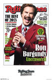 Ron Burgundy Rolling Stone Cover Print