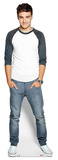Liam Payne Casual Life Size Cut Out Silhouette en carton