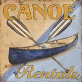 Canoe Rentals Plakater af Debbie DeWitt