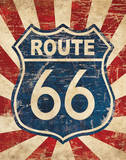 Route 66 I Posters by N. Harbick
