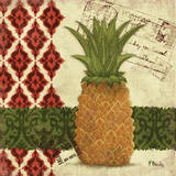 Thai Pineapple I Print by Paul Brent