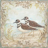 Shore Birds II Print by Kate McRostie