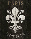 Refurbished Fleur de Lis Affiches par Wild Apple Portfolio