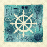 Anchor in Love II Prints by Ashley Sta Teresa