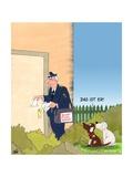 Bissiger Postbote Prints by Uli Stein