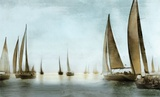 Golden Sails Prints by Drako Fontaine