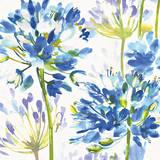 Blue Medley III Poster af Hugo Wild