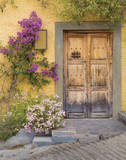 Doorway in Mexico I Prints by Kathy Mahan