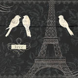 Love Paris I Posters by Emily Adams