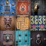 On the Door II Prints by Kathy Mahan
