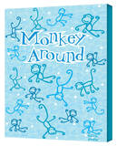 Monkey Around Gallery Wrapped Canvas