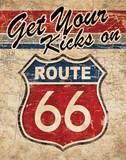 Route 66 II Art par N. Harbick